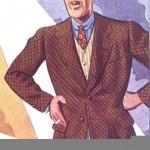 1934 brownherringbonepants
