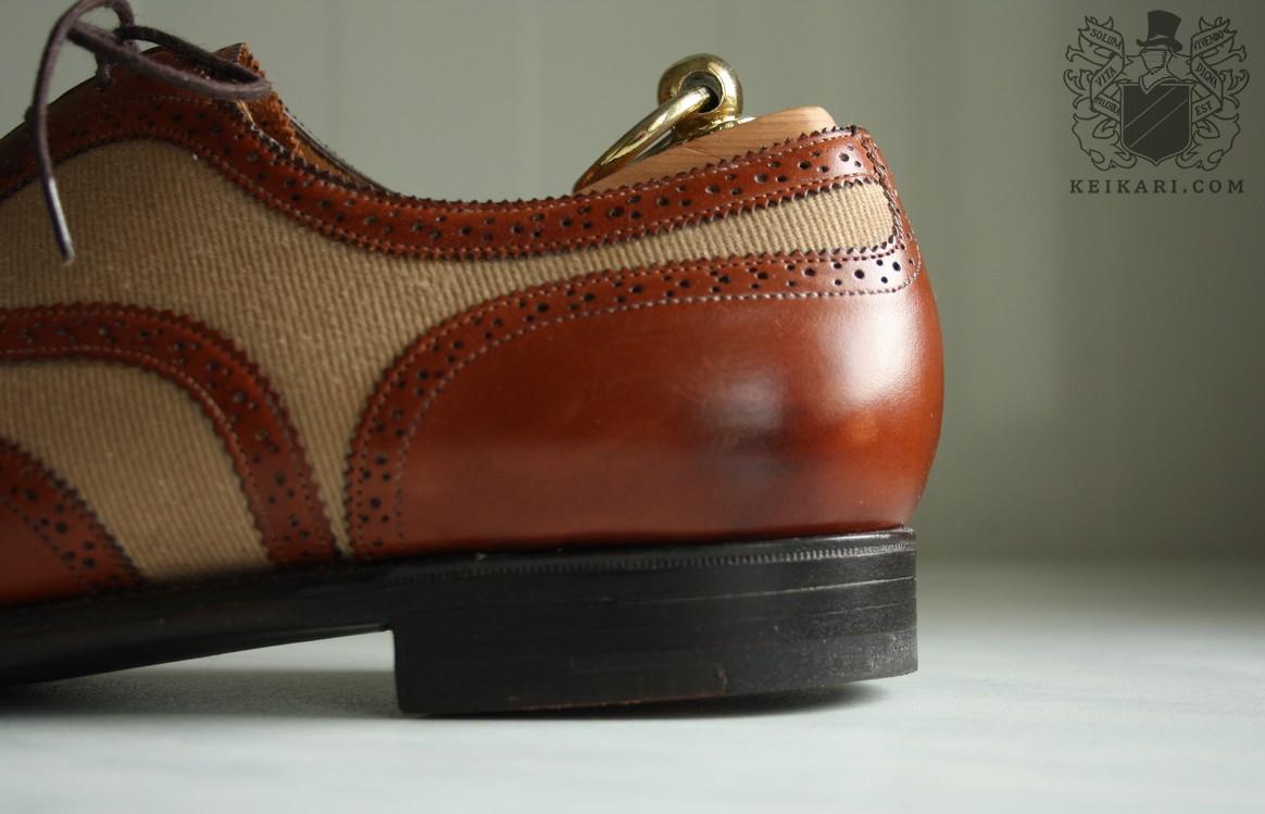 Anatomy of Edward Green shoes Malvern III at Keikari com 06 ... e1036947ba0