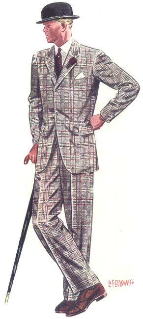 L._Fellows_1939_redplaidsuit