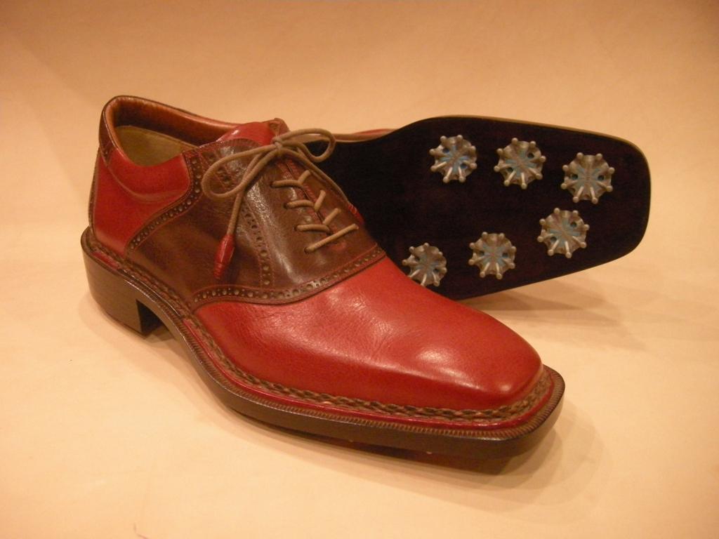 Arbiter Italian Shoes Saddle norvegese golf shoes