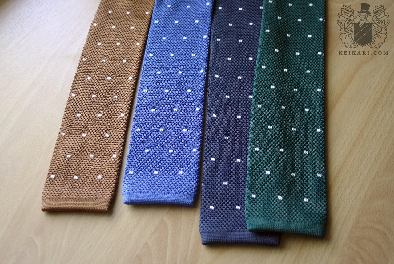 Knit tie semantics | Keikari.com Knit tie semantics | On classic ...